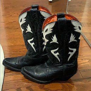 Frye leather vintage cowboy boots